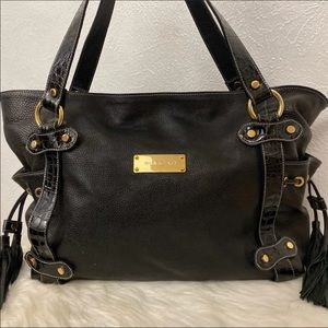 Pulicati Large Leather Satchel